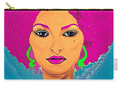 Pam Grier Bold Diva C1979 Pop Art Carry-all Pouch
