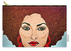 Pam Grier C1970 The Original Diva Carry-all Pouch