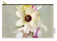 Carry-all Pouch featuring the photograph Pamela by Elaine Teague