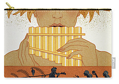 Pan Piper Carry-all Pouch by Georges Barbier