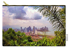 Panama City From Ancon Hill Carry-all Pouch