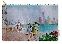Panama City Panama Carry-all Pouch by Frank Hunter