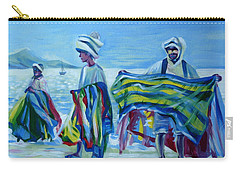 Panama.beach Market Carry-all Pouch by Anna  Duyunova
