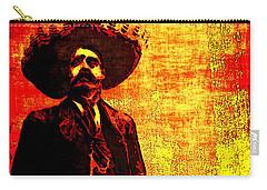 Pancho Villa Carry-all Pouch by Joan  Minchak