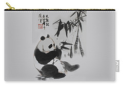 Panda And Bamboo Carry-all Pouch