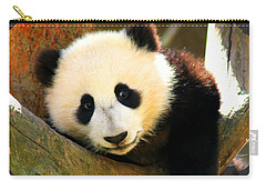 Panda Bear Baby Love Carry-all Pouch