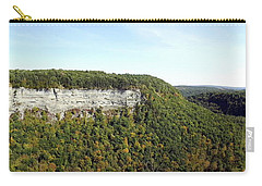 Panorama Of Cliff At Letchworth State Park Carry-all Pouch