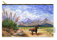 Panorama Triptych Don't Fence Me In  Carry-all Pouch