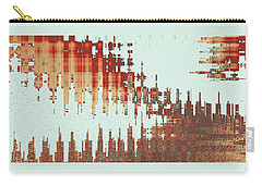 Panoramic City Reflection Carry-all Pouch