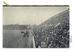 Panoramic Photo Of Harvard  Dartmouth Football Game Carry-all Pouch by Edward Fielding