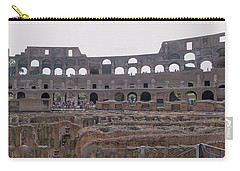 Panoramic View Of The Colosseum Carry-all Pouch