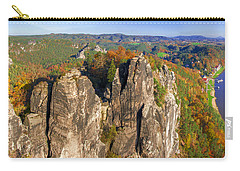 Panoramic Views Of Neurathen Castle Carry-all Pouch
