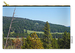 Panoramic Yellowstone Landscape Carry-all Pouch