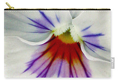 Pansy Flower 11 Carry-all Pouch by Pamela Critchlow