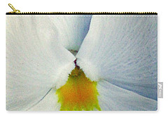 Pansy Flower 19 Carry-all Pouch by Pamela Critchlow