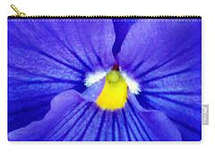 Pansy Flower 37 Carry-all Pouch by Pamela Critchlow