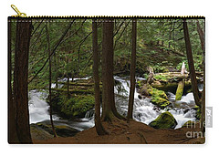Panther Creek Panorama- Washington Carry-all Pouch