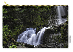Panther Falls Carry-all Pouch by James Heckt