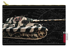 Panzer Tiger II Side Bk Bg Carry-all Pouch
