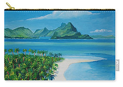 Papeete Bay In Tahiti Carry-all Pouch
