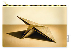 Paper Airplanes Of Wood 7 Carry-all Pouch by YoPedro