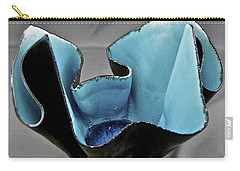 Carry-all Pouch featuring the sculpture Paper-thin Bowl  09-003 by Mario Perron