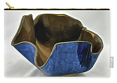 Carry-all Pouch featuring the sculpture Paper-thin Bowl  09-005 by Mario Perron