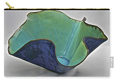 Carry-all Pouch featuring the sculpture Paper-thin Bowl  09-006 by Mario Perron
