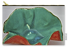 Carry-all Pouch featuring the sculpture Paper-thin Bowl  09-007 by Mario Perron