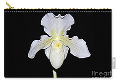 Paphiopedilum Orchid F.c. Puddle Superbum  Carry-all Pouch by Susan Wiedmann