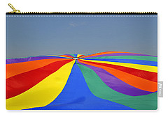 Parachute Of Many Colors Carry-all Pouch