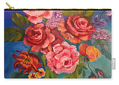 Parade Of Roses 11 Carry-all Pouch