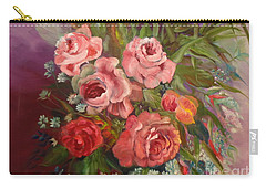 Parade Of Roses Carry-all Pouch