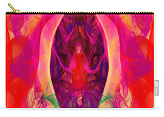 Carry-all Pouch featuring the digital art Paradise Revisited by Clayton Bruster