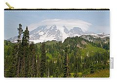 Paradise Valley And Mt.rainier View Carry-all Pouch