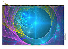 Parallel Realities Carry-all Pouch by Svetlana Nikolova