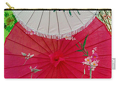 Parasols 1 Carry-all Pouch by Rodney Lee Williams