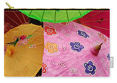 Parasols 2 Carry-all Pouch by Rodney Lee Williams