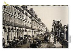 Paris 1900 Rue De Rivoli Carry-all Pouch by Ira Shander