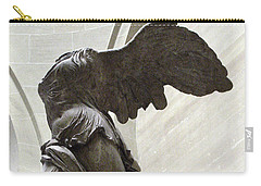 Paris Angel Louvre Museum- Winged Victory Of Samothrace Carry-all Pouch