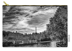 Carry-all Pouch featuring the photograph Paris by Howard Salmon