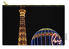 Paris In Vegas Carry-all Pouch
