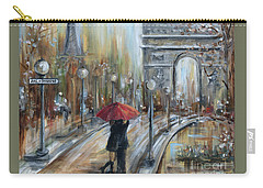 Paris Lovers II Carry-all Pouch