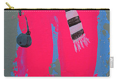 Carry-all Pouch featuring the painting Paris Promenade by Marina Gnetetsky