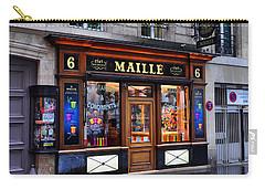 Paris Shop Carry-all Pouch