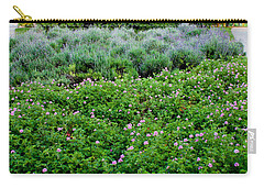 Park Floral Scene Carry-all Pouch