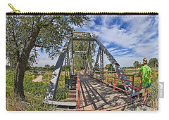 Carry-all Pouch featuring the photograph Parkville Missouri by Liane Wright