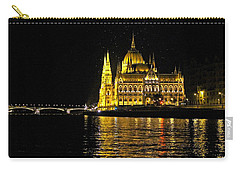 Parliament At Night Carry-all Pouch