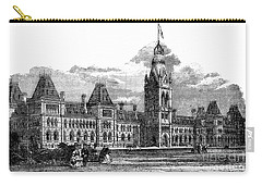 Parliament Building - Ottawa - 1878 Carry-all Pouch