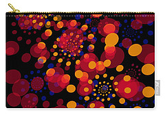 Party Time Abstract Painting Carry-all Pouch